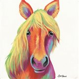 Cheery Horse Art Print
