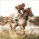 Number One Rider Art Print