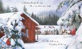 Dashing Through the Snow Art Print