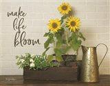 Make Life Bloom Art Print