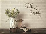Faith & Family Art Print