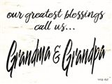 Grandma & Grandpa Art Print
