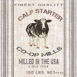 Calf Starter Art Print