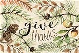 Give Thanks Art Print