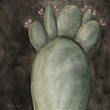 Big Blooming Cactus I Art Print