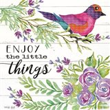 Enjoy Little Things Art Print