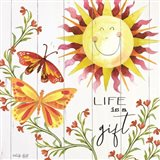 Life is a Gift Art Print