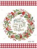 All Hearts Come Home For Christmas Art Print
