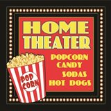 Home Movie Theater Art Print