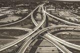 Highway Crossing Art Print