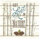 Get Lost in Nature Art Print