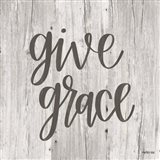 Give Grace Art Print