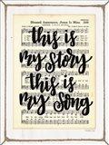 My Story, My Song Art Print