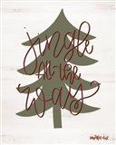 Jingle All the Way Art Print