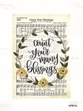 Count Your Many Blessings Art Print
