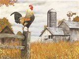 Down on the Farm II Art Print