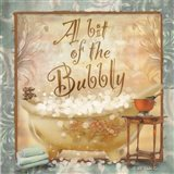 A Bit of the Bubbly Art Print