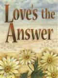 Love's the Answer Art Print