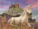 Royal Unicorn Art Print