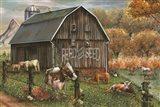 Feed and Seed Farm Art Print
