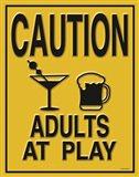 Adults at Play I Art Print