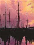 Harbor Glow Art Print