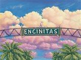 Encinitas Sunset Art Print