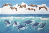 Surf and Soar Art Print