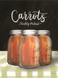 Farm Fresh Carrots Art Print