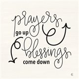 Blessings Come Down Art Print