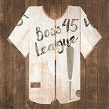 Vintage Sports Boss League Art Print