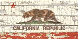 Vintage California Sate Flag Art Print