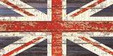 Vintage Union Jack Art Print