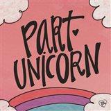 Part Unicorn Art Print
