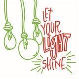 Let Your Light Art Print