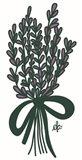 Lilac Bouquet Art Print