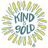Sunshine Kind is Gold Art Print