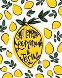 Lemonade and Jesus Art Print