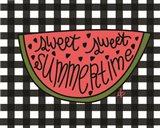 Sweet Summertime Watermelon Art Print
