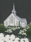 White Church Art Print