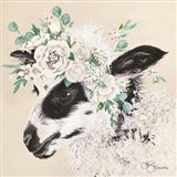 Grace the Lamb Art Print