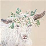 Faith the Goat Art Print