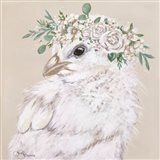 Joy the Chick Art Print
