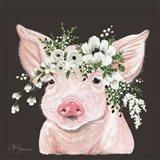 Poppy the Pig Art Print