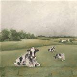Down on the Farm I Art Print