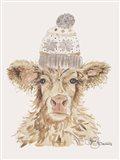 Cozy Cow Art Print