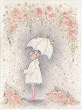 Georgia in the Rain Art Print