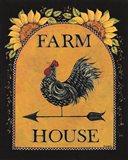 Sunny Farmhouse Art Print