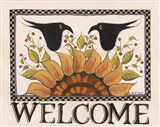 Sunny Welcome Art Print