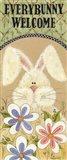 Every Bunny Welcome Art Print